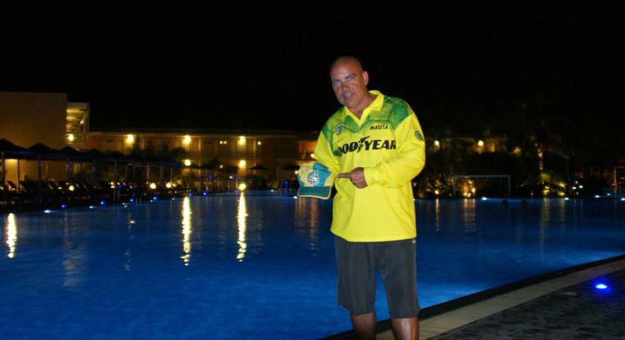 Silvio op het eiland Kos