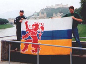 Fans in Oostenrijk